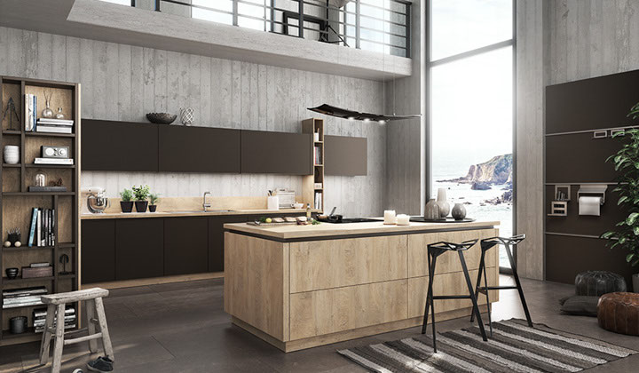 Very modern European kitchen by BauFormat