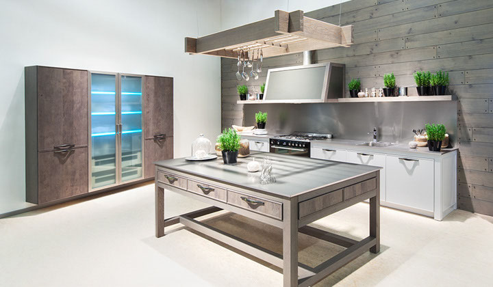 Minimalist Kitchen design, German kitchen by BauFormat