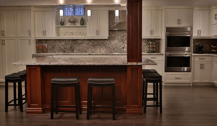 White wood kitchen by Design to Fit Interiors, GTA