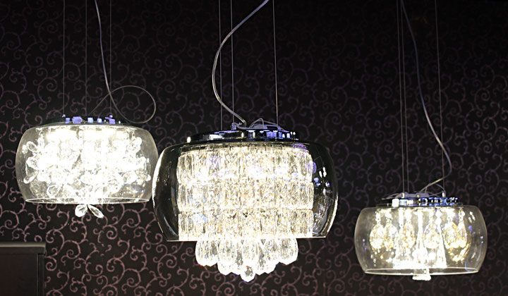 Crystal pendant lighting by Modern Lights