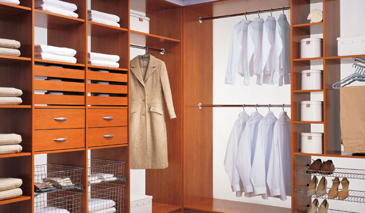 Wood Walk in closet system by Komandor Canada, Etobicoke