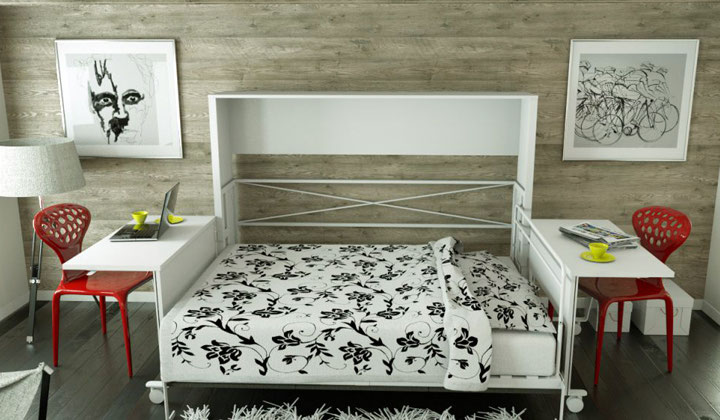 Smart wallbed by Matrix Wallbeds, Toronto