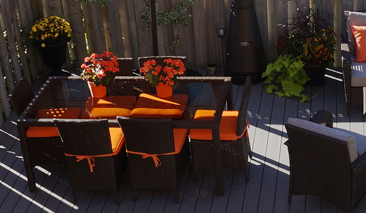 Best composite decking systems, slide and go decks, by TruNorth Deck