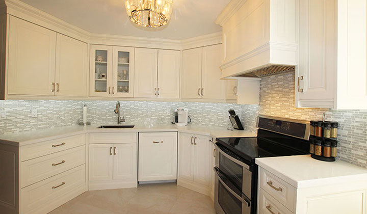 Major kitchen renovation by Joseph Kitchens, Toronto