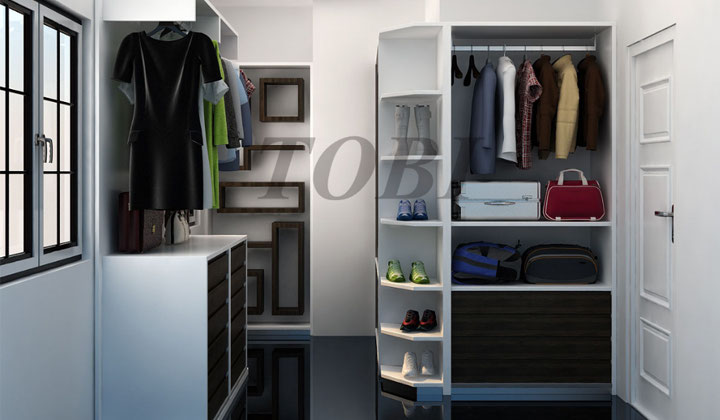 Custom storage solutions, entry way closet by TOBI, North York