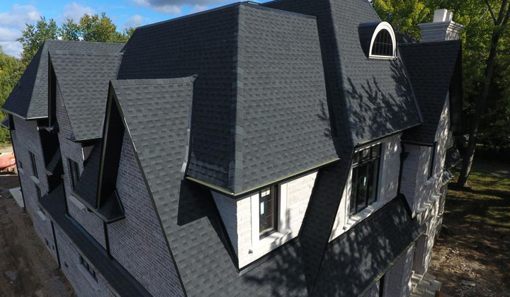 Shingle Roof residential home by Max Pro Roofing, Woodbridge