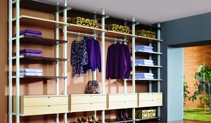 Reach in wall Storage solution by Komandor Canada Closets, Etobicoke
