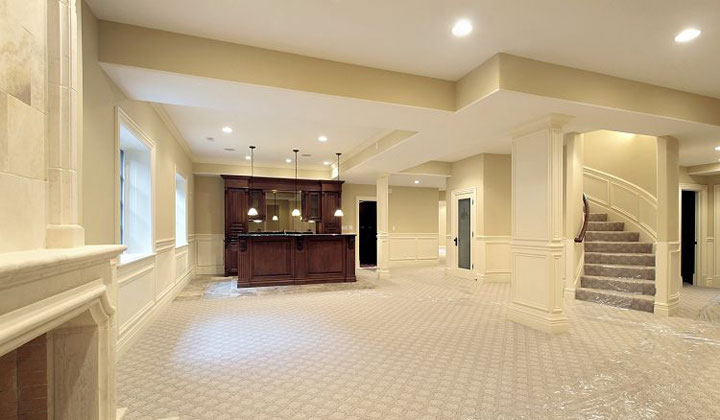 Complete basement renovation by Basement Reno Plus, Vaughan