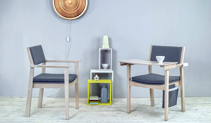 High quality wood chairs by TON