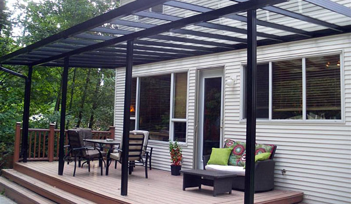 Custom order Patio Canopy by Liga Group