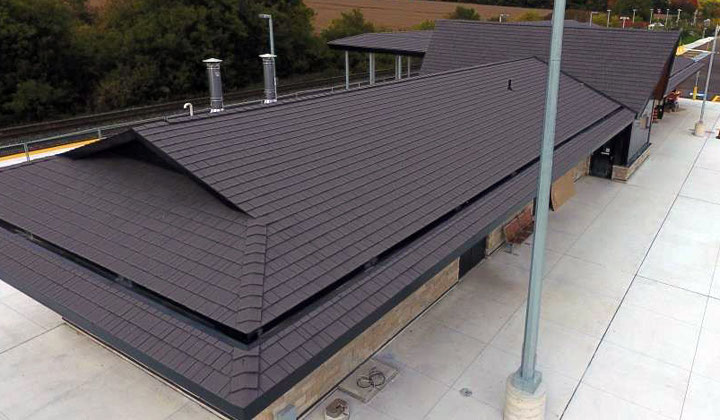GO Station Enviroshake, plastic roof materials.Professional roofing services by Max Pro Roofing