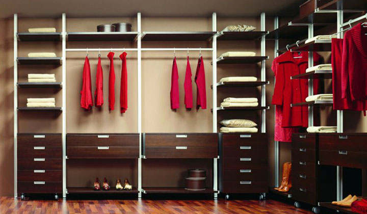 Walk in closet storage system by Komandor, Mississauga