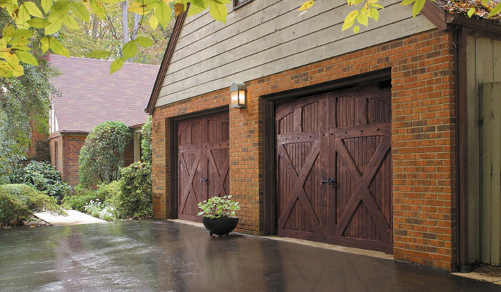 Barn looking Garage Doors by Amir Garage Door, Toronto