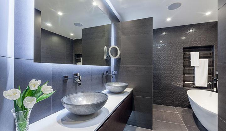 Major bathroom renovation  professional design and renovation by Georgian  Group Renovations. Georgian Custom Renovations   At Improve Canada