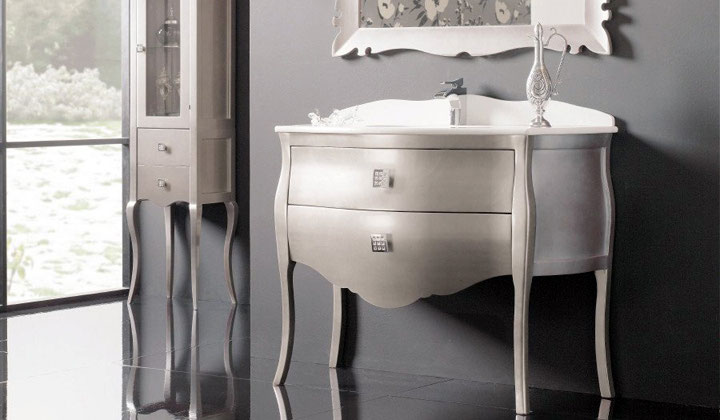 Bathroom Vanity Outlet Toronto 38 Inch Single Sink Bathroom Vanity In Antique White