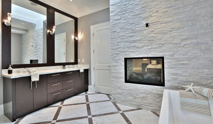 Complete Bathroom renovation by Houser Fine Cabinetry, Vaughan