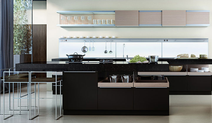 Modern style kitchen by GT Kitchen & Bath, Vaughan. Full Kitchen renovation and design