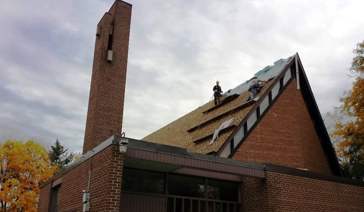 Commercial roofing services, roof instalation, restoration & repair