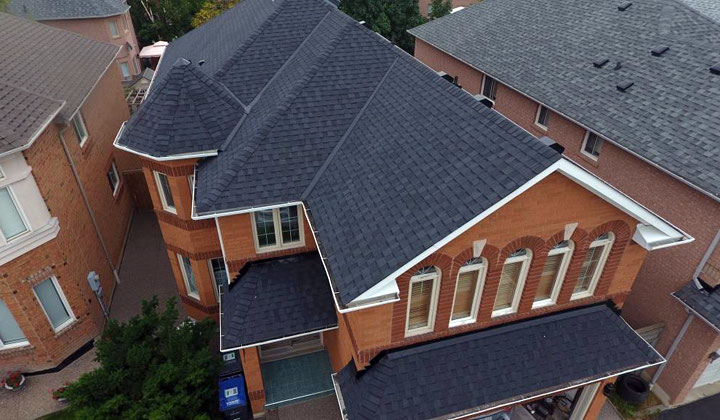 Residential shingle roofing by Max Pro Roofing