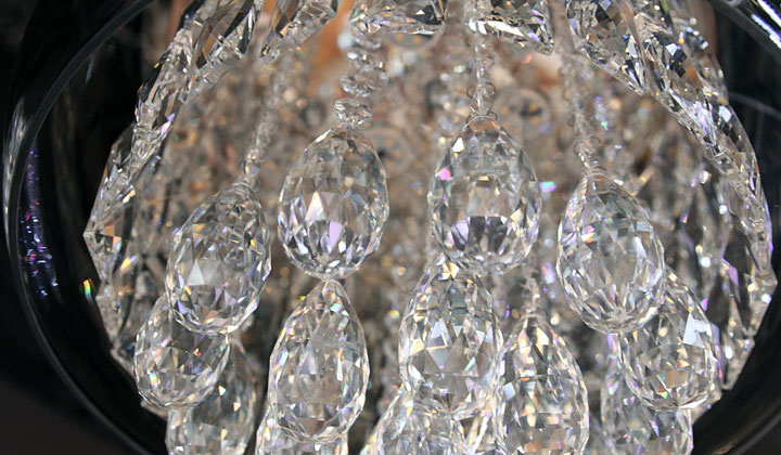Crystal chandalier by Modern Lights