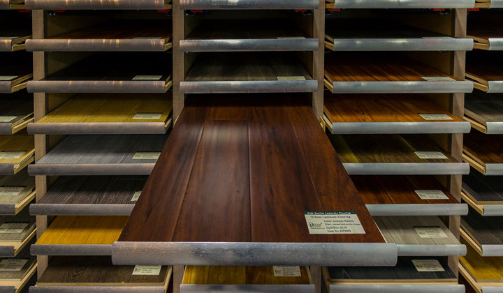 Improve Mall  A + Flooring showroom, great selection of hardwood and laminate, Vaughan