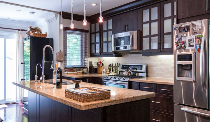 Kitchen makeover and renovation by Norseman Construction, Design , renovation and installation, Toronto