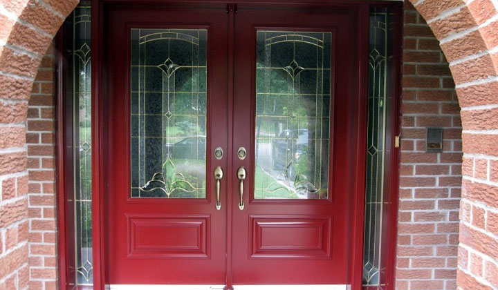 Entryway doors by George Kent