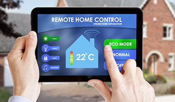 Control your home with one click, smart home systems