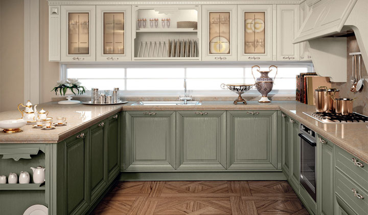 White and gray combination Italian high quality kitchen, GTA