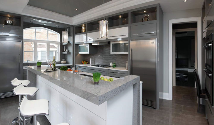 Lucvaa kitchens at improve canada for Kitchen designs canada