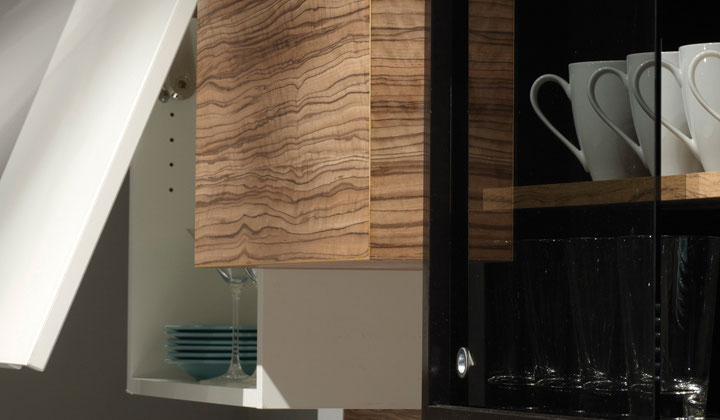 Modern wood bathroom storage cabinetsby Cartier Kitchens, Toronto