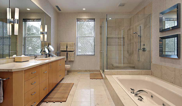 Complete bathroom renovation by Lanxin, Toronto
