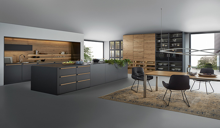 Leicht kitchens haus at improve canada for Haus kitchens