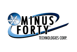 Minus Forty Technologies. Logo