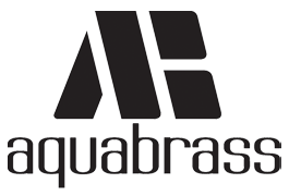 aquabrass. Logo