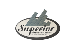 Superior Flooring. Logo