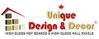 Unique Design & Décor Logo