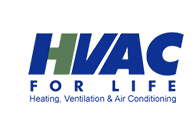 HVAC For Life. Logo