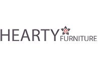 Hearty Furniture. Logo