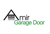 Amir Garage Door Logo