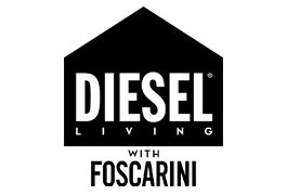 Diesel Living with Foscarini. Logo