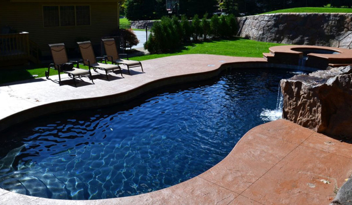 caribbean swimming pool your backyard oasis by leisure pools