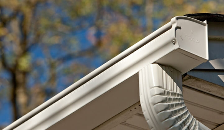 Gutters that have no need to be cleaned by Gutter Depot