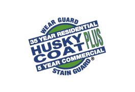 Husky Coat Plus. Logo