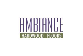 Ambiance Hardwood Floors. Logo