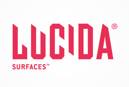 Lucida Surfaces. Logo