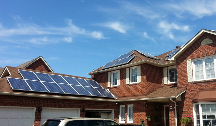 Solar panes, the most efficient way to save energy.