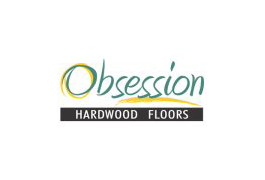 Obsession Hardwood floors. Logo