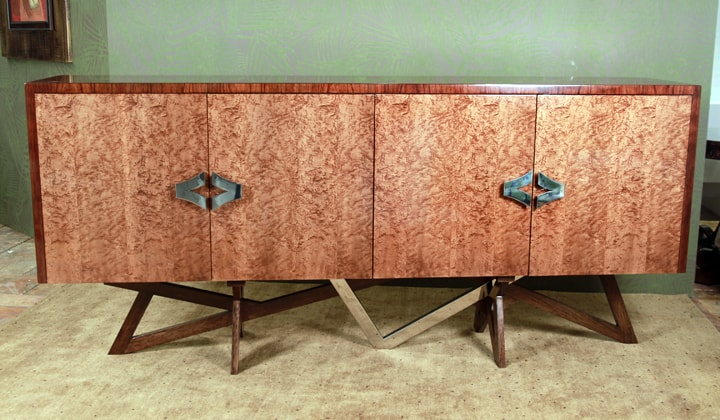 Unique design TV stand by Art Boulle