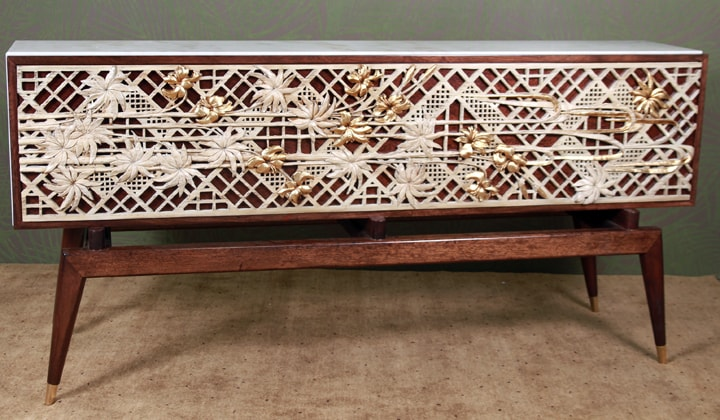 Unique design Console table by Art Boulle